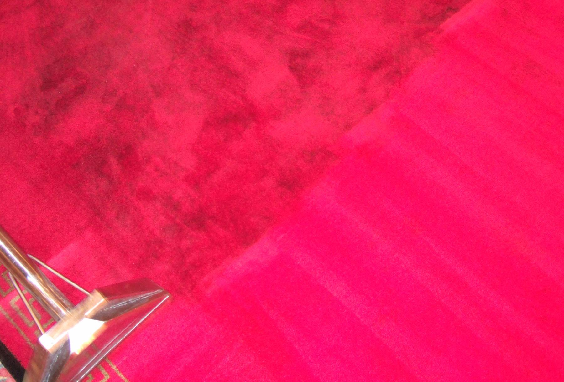 Beispiel für Teppichreinigung