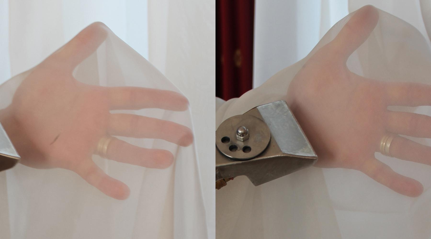 Beispiel für Vorhang und Gardinen